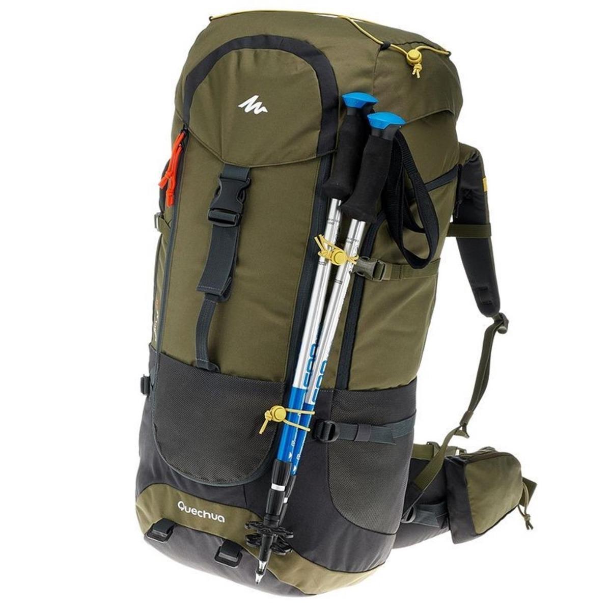 266f05b38 mochila trekking quechua forclaz 70 litros verde. Cargando zoom.