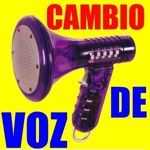 ** modulador amplificador de voz cambiador 10 tipos original