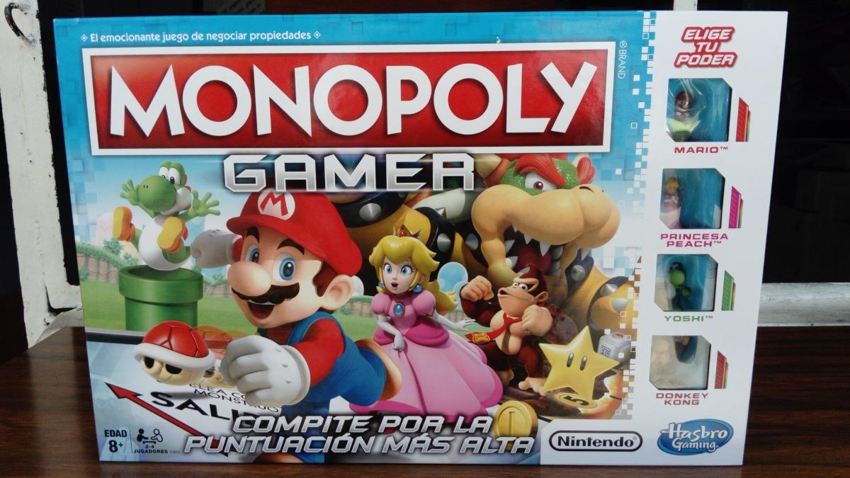 Hasbro Gaming Juego De Mesa Monopoly Gamer C1815 Tienda De Regalos