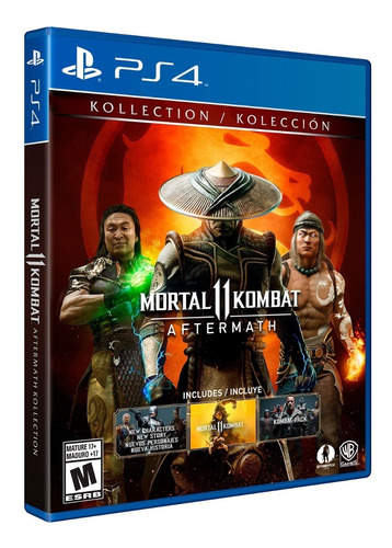 ..:: mortal kombat 11 aftermath ::.. para ps4 en game center
