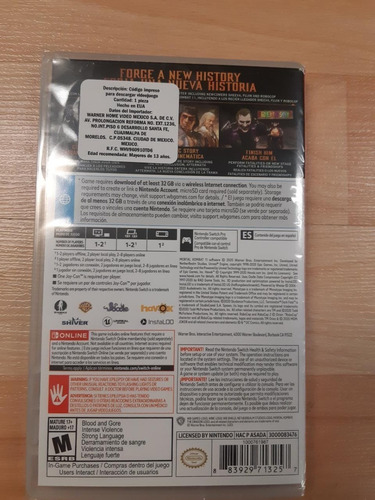 ..:: mortal kombat 11 aftermath ::.. switch en game center
