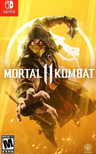 ..:: mortal kombat 11 ::.. para  switch