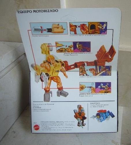 (((( motu tower tools escalator-sellado- nuevo1987 ))))