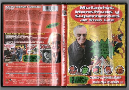.: mutantes, monstruos y superhéroes :.  dvd seminuevo!!!