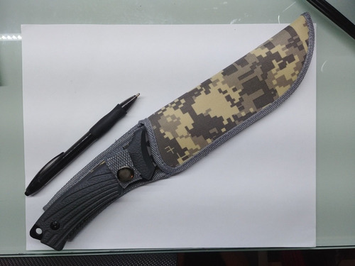 | navaja 7 pulgadas | cuchillo monte | con funda |