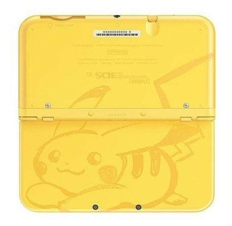 ..:: new nintendo 3ds xl edicion pikachu ::.. en game center