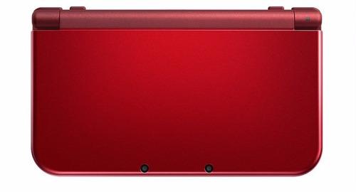 ..::  new nintendo 3ds xl rojo + cargador g + garantia ::..