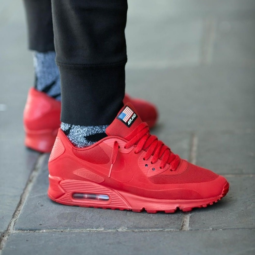 *+* Nike Air Max 90 Hyperfuse Independence Day Airmax *+*