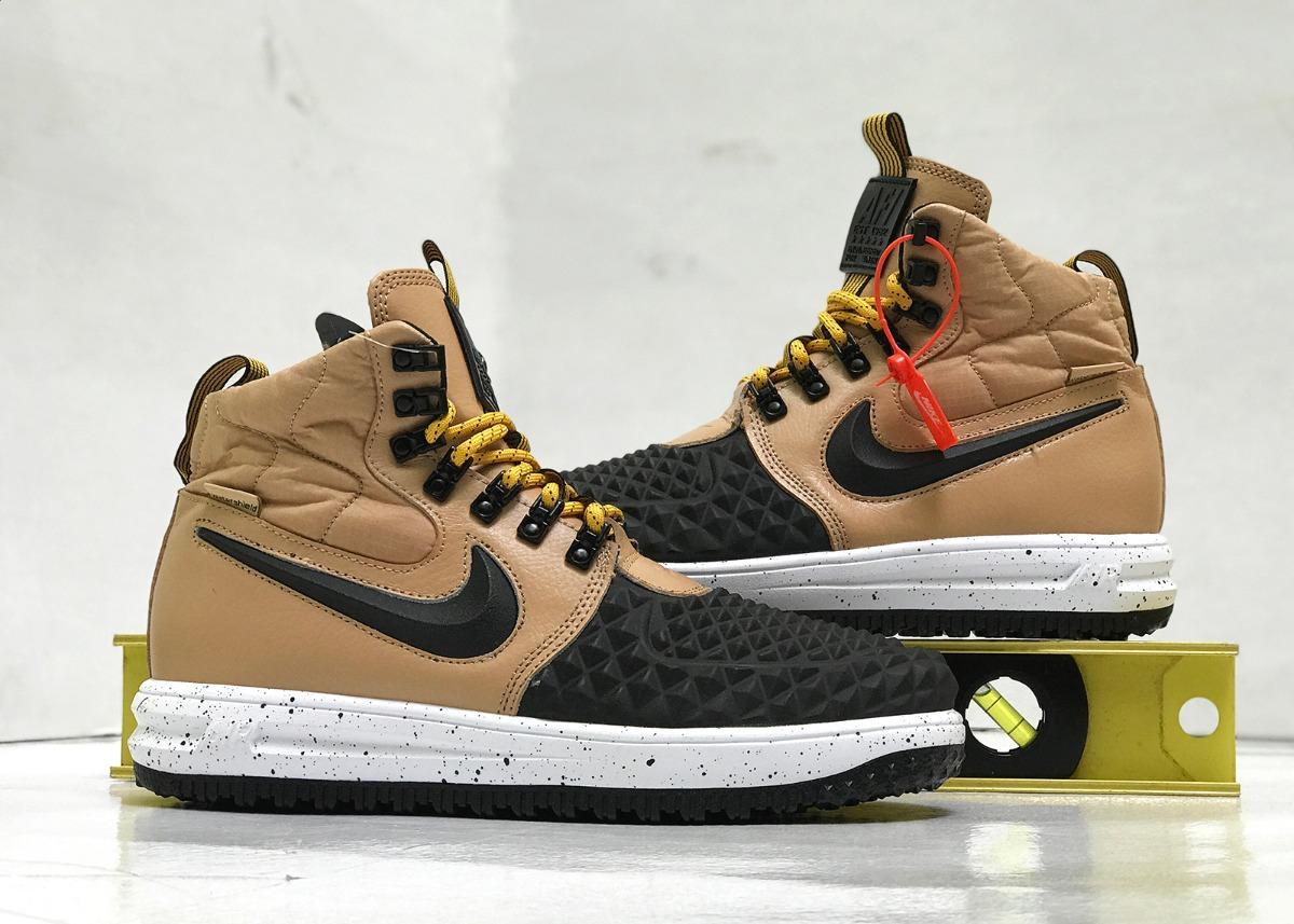 Nike Lunar Force 1 One Duckboot Duck Botas Tenis Piel 1