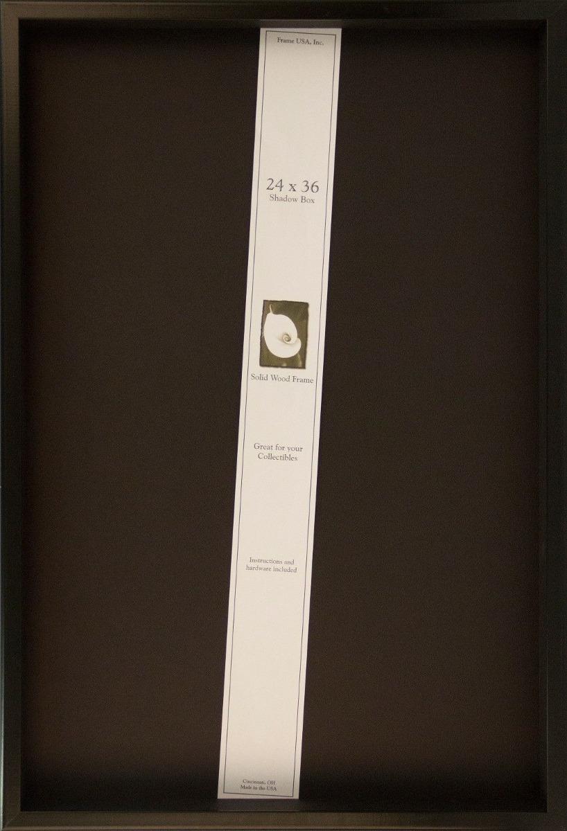 Nuevo * Marco 24 X 36 Caja De Sombra... (black) - $ 115.990 en ...