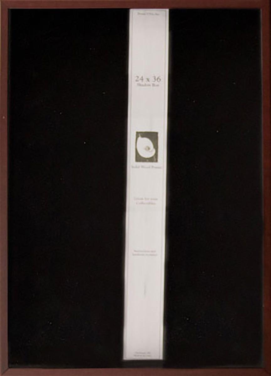 Nuevo * Marco 24 X 36 Caja De Sombra... (cherry) - $ 115.990 en ...