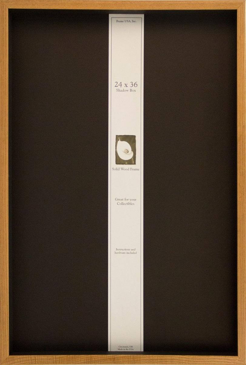 Nuevo * Marco 24 X 36 Caja De Sombra... (honey) - $ 115.990 en ...