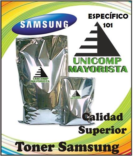 ** nuevo ** toner polvo samsung 101 //especifico//