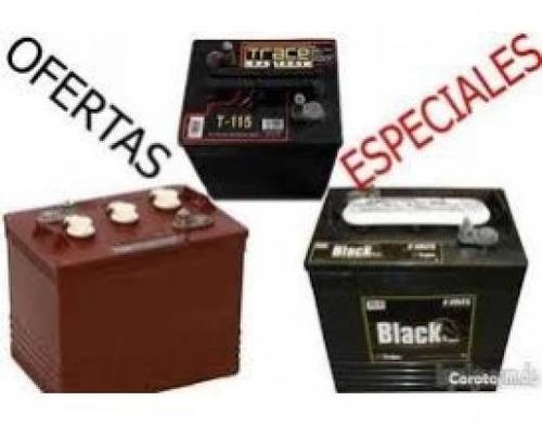 ** o f e r t a ** baterias trojan black de inversores (aqui)
