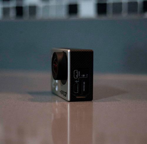 [ oferta ] gopro hero 3+ black - como nueva - con accesorios