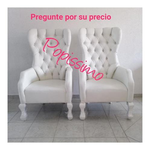 *** oferta sillon tapizado vintage + gratis envio