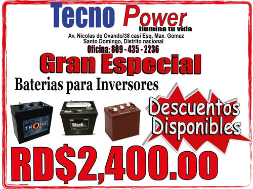 * ofertazo * inversor de 1.2kw con sus baterias (materiales)