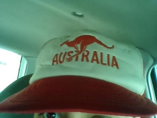 °°° oportunidad!!! gorro/gorra de visera retro australia °°°