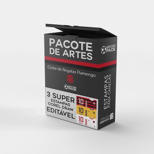 *** pack arte estampas flamengo - sublimação canecas ***