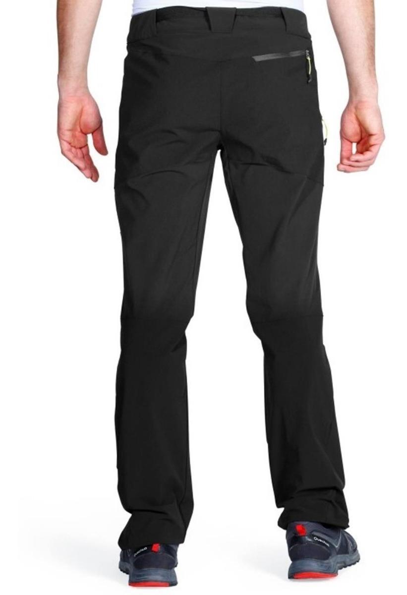 buena calidad siempre popular auténtica venta caliente ® Pantalón Técnico Trekking Quechua Forclaz 500 Hombre Negro