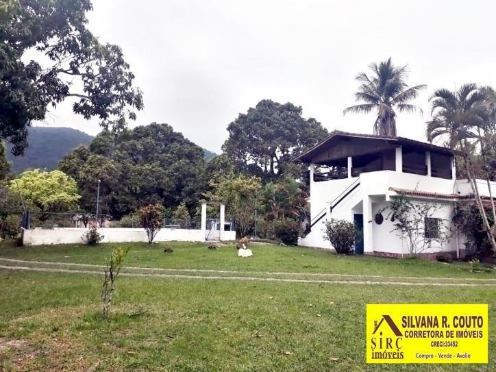 -papucaia - sítio com 10.000 m², todo plano, 5 qts, r$ 380 mil - 230