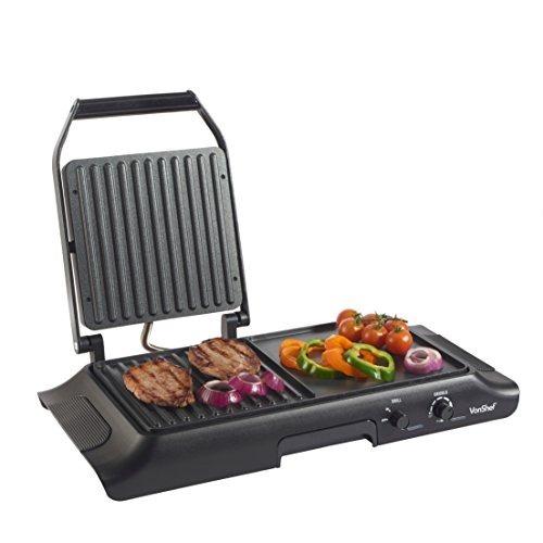 Parrilla y plancha electrica vonshef para cocina 309 - Plancha de cocina para empotrar ...