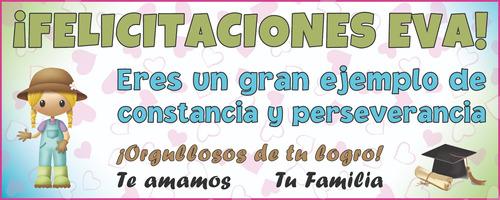 © pasacalles carteles cumpleaños recibimiento pancartas