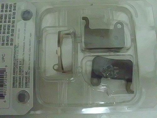 * pastilhas freio disco shimano xtr / xt / slx a01s resin *