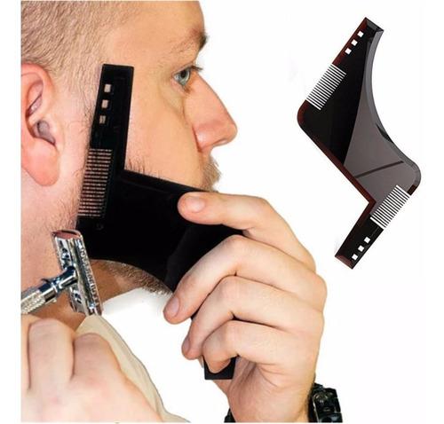¡ peine barba molde guía plantilla afeitar beard clear !!