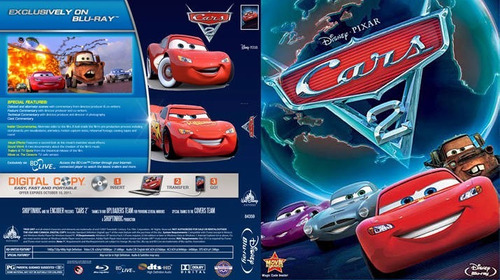 °°° película bluray cars 2 ¤ super!!! °°°