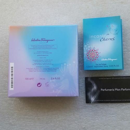 ** perfume incanto shine by salvatore ferragamo. entrega inm