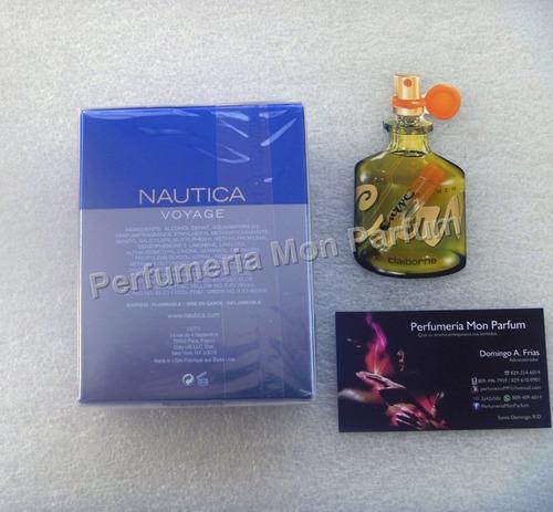 ** perfume náutica voyage by nautica. entrega inmediata **