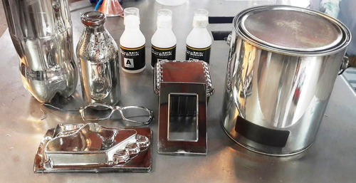 :: pintura cromo al agua (kit grande) ::