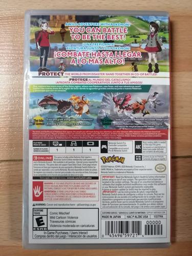 ..:: pokemon shield + expansion ::.. switch en game center