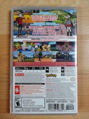 ..:: pokémon shield :::. para switch disponible hoy