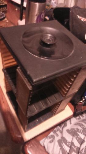 °°° portacassettes en acrilico buen estado - 64 espacios °°°