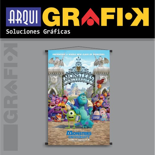 ..:: posters - banners de película ::.. monsters university