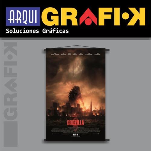 .: posters - banners películas :. godzilla