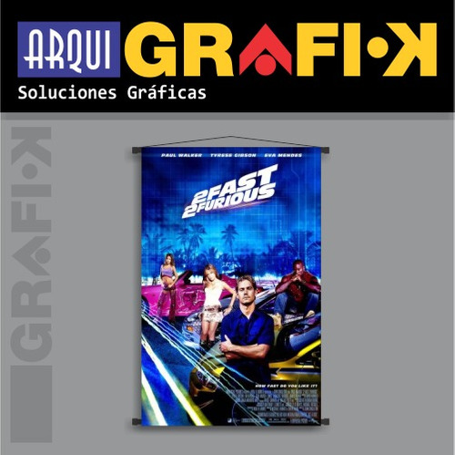 .: posters-banners :. rápido & furioso 2 - fast & furious 2