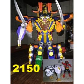 Power Rangers Samurai Megazord Deluxe  Gigazord Mas Tigerzo