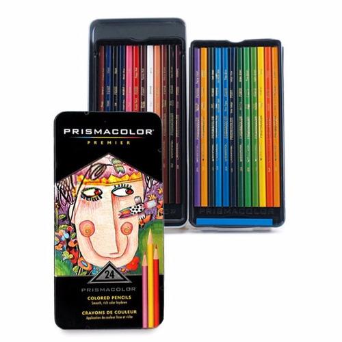 ¡ prismacolor premier 24u caja de lápices colores !!