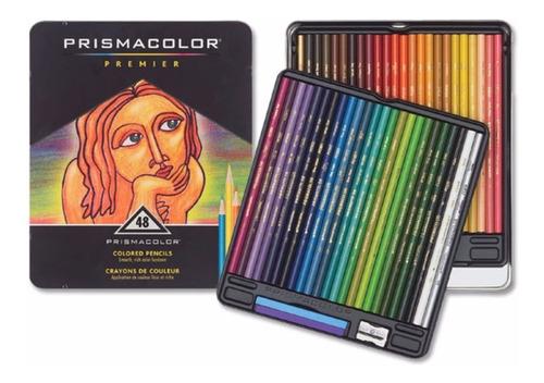 ¡ prismacolor premier 48u caja de lápices colores !