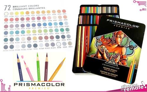 ¡ prismacolor premier 72u caja de lápices colores !