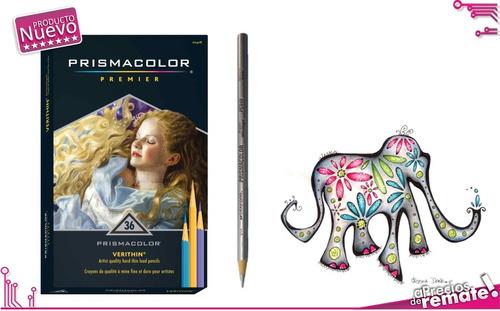¡ prismacolor premier verithin 36u caja de lápices colores !