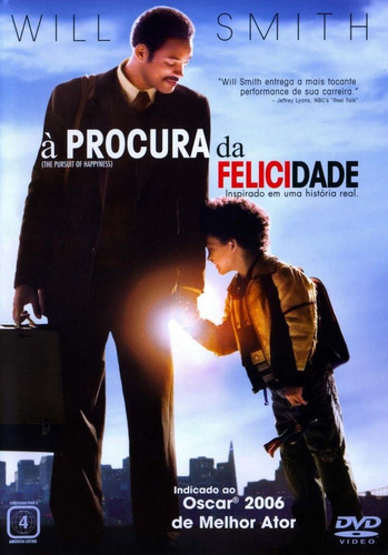 à procura da felicidade - dvd - will smith - jaden smith