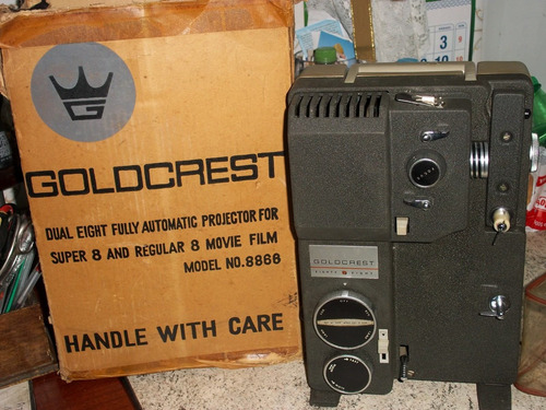 -projetor-goldcrest-semi novo-