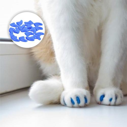 ¡ protector de uñas pra gatos colores nail glow soft claws !