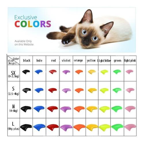 ¡ protector de uñas t. l gatos gl - unidad a $192