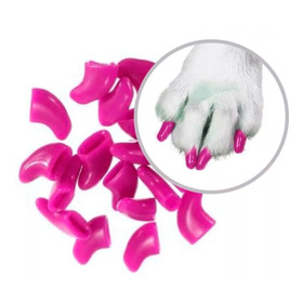 ¡ Protector Uñas Mascota Nail Color Glow Soft Claws Gato !!