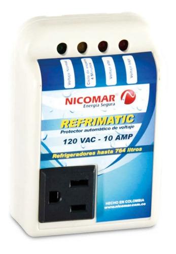 ¡ protector voltaje 120v 10a refrimatic nevera congelador !!